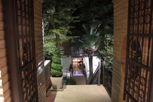 Entrada do Hotel Forzza Mare