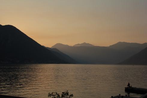 Por do sol Kotor